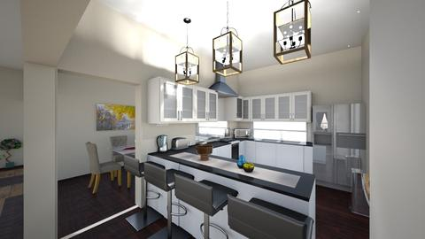 finaldesign kitchen1 - Modern - Kitchen - by Stephanie Felix