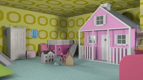 Liberty and Emilia's beautiful bedroom - Feminine - Bedroom - by livvy651
