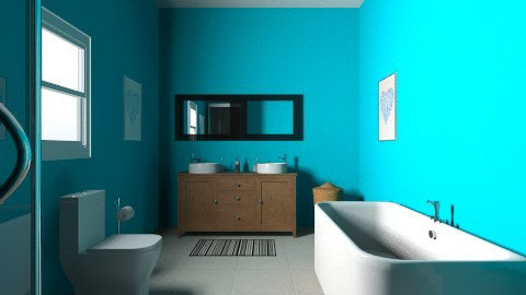 my bathroom - Glamour - Bathroom - by Maddi2002