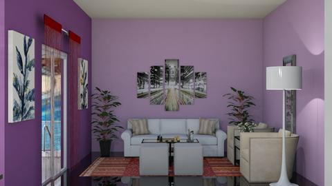 RKJ - Living room - by Jacqueline De la Guia