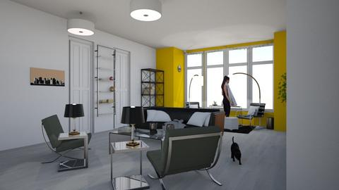 Modern Mansion  - Modern - Living room - by Yate