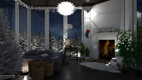Winter - Bedroom - by lilyamc