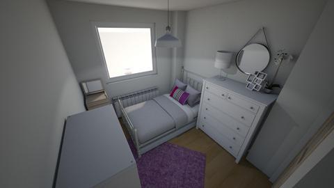 Habitacion Nerea - Feminine - Bedroom - by everybodyfeel