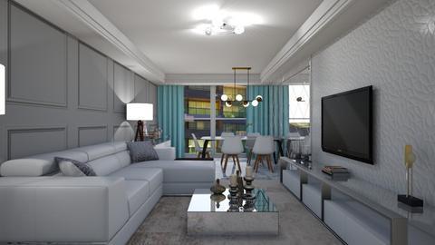 Niels - Living room - by aletamahi