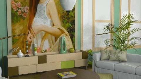 Colbait  - Rustic - Living room - by SariJo