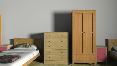 boarding school dorm - Modern - by lunnahermione