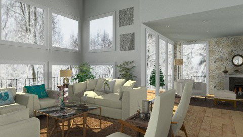 Living area - Classic - Living room - by milyca8