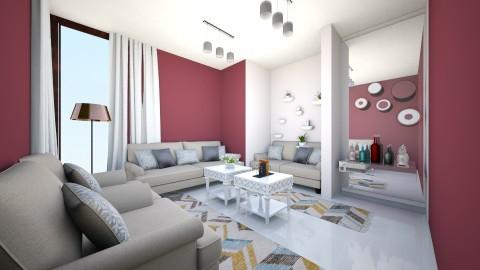 Sala rustica  - Retro - Living room - by kelly lucena