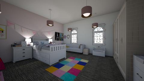 Phoebes Room  - Kids room - by Little Miss Designer 198