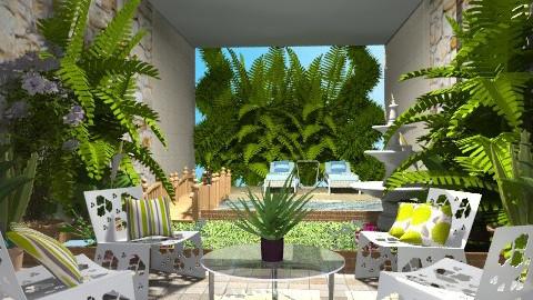 modern garden - Modern - Garden - by Cejovic Andrijana