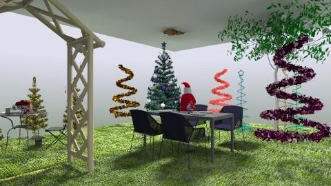 christmas garden - Garden - by kikigen