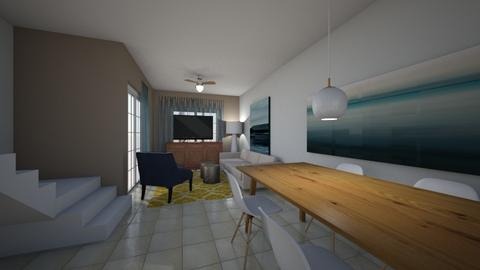 casa balsa - Dining room - by domuseinterior