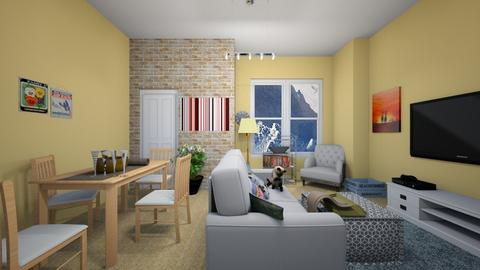 small living room diner - Living room - by sarahaspland