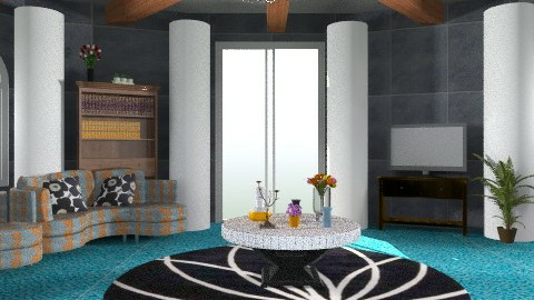 Glamour Living room - Glamour - Living room - by HannaTOTE