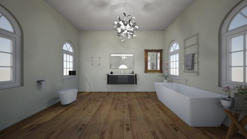 Eclectic Bathroom - Bathroom - by BakerSweet