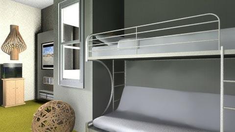michaels room 2 - Bedroom - by Nina Gatta