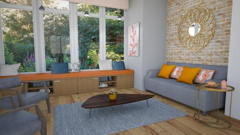 Template Baywindow Room - Country - Living room - by fashionistafalida
