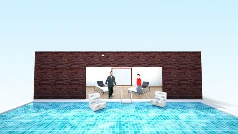 pool time - by balbuenanathally