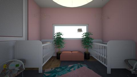 Pink  - Bedroom - by ne078712