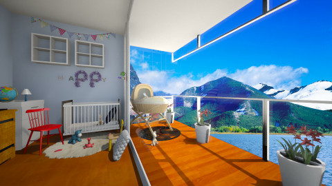 Baby boy - Kids room - by Noella Louisy