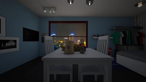 tiny house 3 - Minimal - Dining room - by Brina Yunio