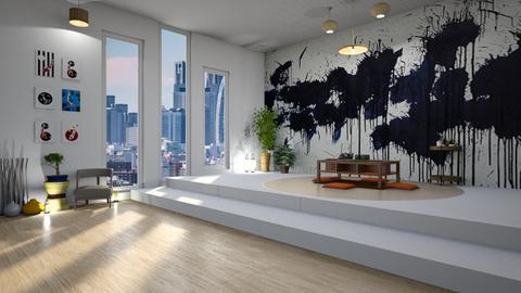 ushio shinohara - Living room - by Sarah Anjuli