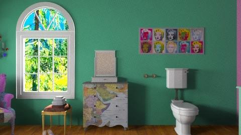 Color Splash - Vintage - by ericeira