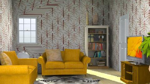 animalistic - Retro - Living room - by SarahLou