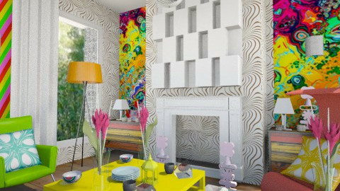 Fun time - Living room - by Astriid Ramos