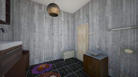 Full bathroom - Bathroom - by midnightmystery09