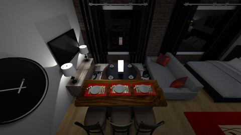 350 living area - Living room - by Mitj Bowman