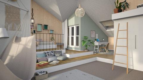 TeenageBedroome - Bedroom - by Gwenda van Maaren