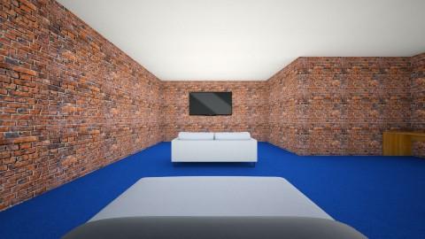 concrete 3 - Living room - by EvieNZ