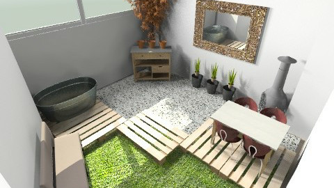 Courtyard 2 - Minimal - Garden - by maryke