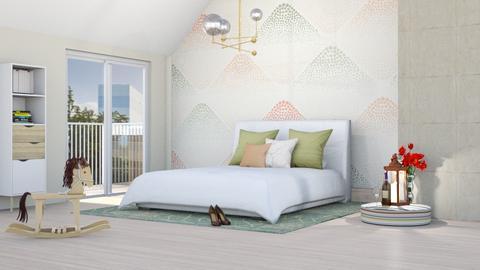 MP bedroom - Bedroom - by KimAlys