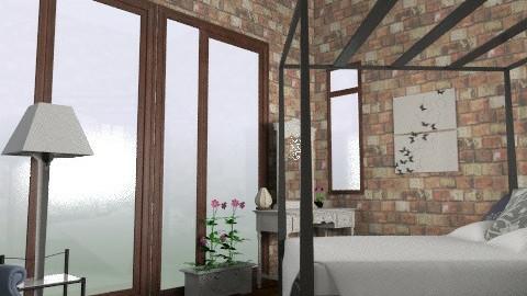 Loft - Rustic - Bedroom - by ruthiec1