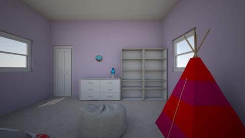 harpydogzroom - Bedroom - by harperdogz23