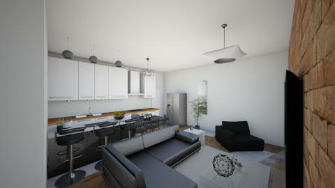 casa me1qw - Living room - by Araujo
