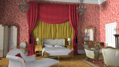 versailles bedroom - Classic - Bedroom - by fre82