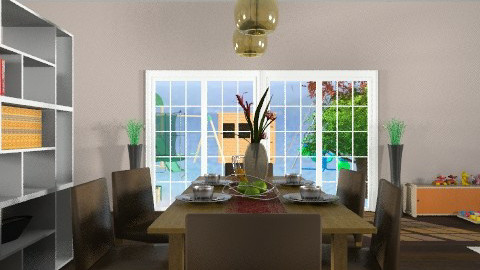 Dining Room2 - Modern - Dining room - by tanujaw