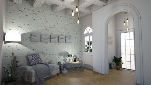Relax - Living room - by zenaalomran