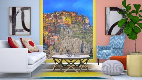 Primary Colors - Modern - Living room - by millerfam