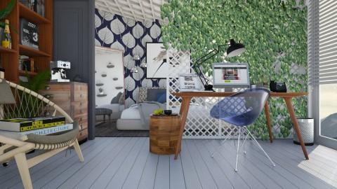 Ivy divider - Office - by Liu Kovac