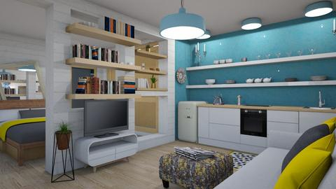 Small apartment - Modern - Living room - by augustmoon