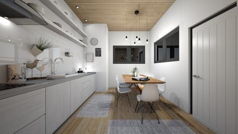 SK Kitchen - Kitchen - by RonRon