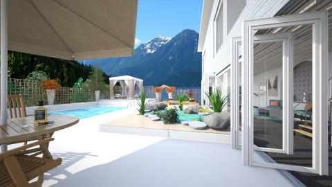 holiday villa - Modern - Garden - by donella