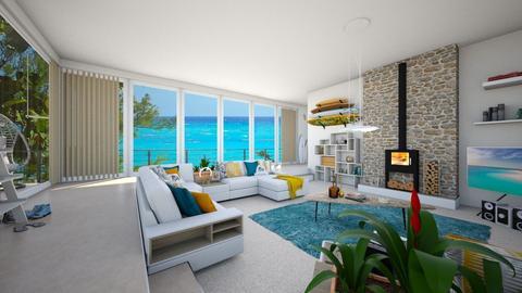 Surf living - Living room - by tieganclayton