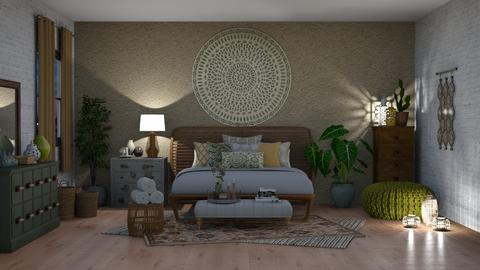 Bohemian Room  - Bedroom - by Sarah_choo