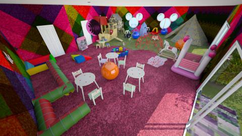 sale de jeux - Kids room - by Josef Bob