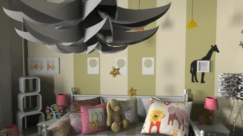 Sophisticated girl room - Glamour - Kids room - by aveneym